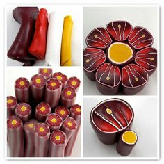 Red flower cane