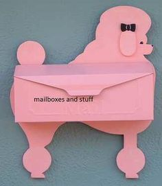 http://www.mailboxesandstuff.com/Wall_Mount_Mailboxes-Unique_Novelty_Animal_Shaped_Mailboxes.htm
