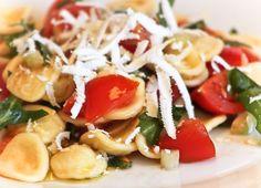 Orecchiette cacio e basilico, my favorite food
