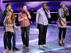 Haley Reinhart in rsn boheme Colorful Swirl Fitted Blazer // American Idol Season 10 Top 5 Results Show