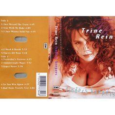 Kassett- Trine Rein- Finders Keepers- EMI 1993. I meget bra komplett stand. Testet og virker. Med tekster.