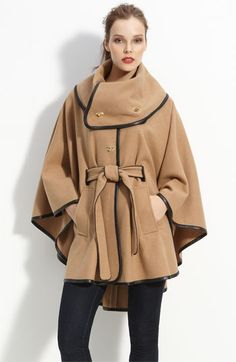 I love Rachel Zoe's line.  This cape is amazing.  Wish I could have caught it on sale!
