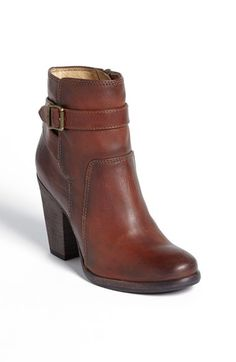 WANT WANT WANT WANT!!! Frye 'Patty' Leather Riding Bootie (Women)