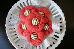 Pink zebra cookies :) baby shower ideas