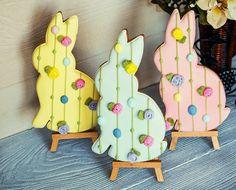 Пряник пасхальный  купить/Easter Bunnies with Roses
