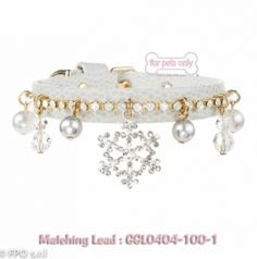 For Pets Only Angel Snow Collar