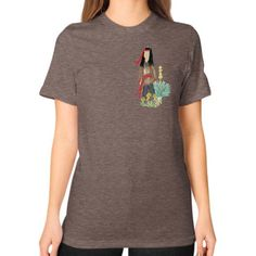 Native Boy Unisex T-Shirt (on woman)