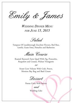 download free stylish templates for your wedding menu wedding menu template from business templates