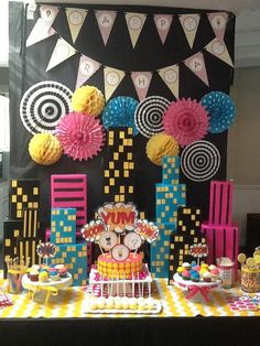 A Super Hero Party for Girls