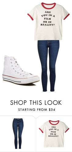 """Untitled #227"" by cruciangyul on Polyvore featuring Topshop and Converse"
