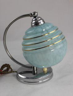 Traumhafte ART DECO Lampe - Nachttischlampe - Tischlampe