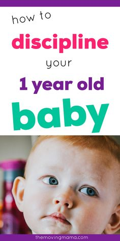 Learn here what you actually need to know to start discipline right with your 1 year old baby. Toddler discipline can be tricky, and with a 1 year old baby you're now heading in that direction. Babies don't need much discipline, but as a new parent it's crucial to develop good habits now to learn to discipline the right way. Toddler Behavior, Toddler Discipline, Positive Discipline, 1 Year Baby, One Year Old Baby, Peaceful Parenting, Gentle Parenting, Strong Willed Child, Terrible Twos