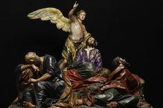 Creada por Francisco Salzillo en 1754. Se encuentra en el Museo de Salzillo, en Murcia España.    Esta obra representa el momento en que Jesús junto con tres de sus apóstoles reza en el Huerto de los Olivos momentos antes de su Pasión.