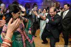 indian wedding groom reception bride http://maharaniweddings.com/gallery/photo/9647