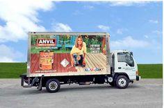 Anvil Paints Truck Wrap Design