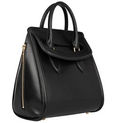 Alexander McQueen Heroine Leather Tote.  So hot.  So many colors.  So unattainable.