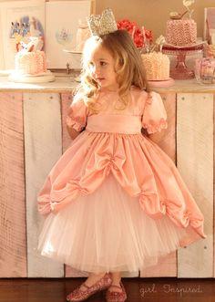 Little lace crown princess