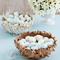 Easy bird nests #crafts #easter