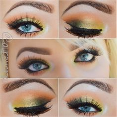 Golden look @ aurevoirxo