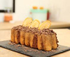 Bûche à la banane et au chocolat : Recette de Bûche à la banane et au chocolat - Marmiton