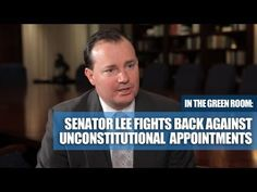 """Sen. Mike Lee: Obama is """"manifestly wrong"""" on the Constitution."""