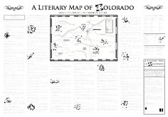 A Literary Map of Colorado (ISBN 0983671109)