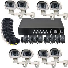 VideoSecu 8 Channel H.264 Security Surveillance DVR Digital Video Recorder System with 1500GB Hard Drive, 8 Built-in SONY Effio CCD Day Night IR Outdoor Security Cameras, 8 Pack Video Power Cables, 8 Camera Power Supplies CPB by VideoSecu. $1396.99. The VideoSecu 8-channel DVR gives you the coverage you need at a low price. That makes it ideal for multi-camera commercial and individual applications. With up to 8 Cameras connected and connect to TV, you can monitor 8 locations at ...