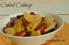 #Recipe for cooked cabbage #foodelicious #stpattysday