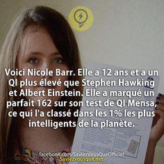 Saviez Vous Que? | Découvrez de nouvelles infos pour briller en société ! Stephen Hawking, Good To Know, Did You Know, Cosmic Boy, Einstein, Wtf Fun Facts, English Quotes, Knowing You, Philosophy