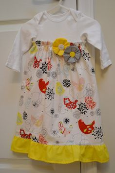 Onsie Dress. I love this, making it now...