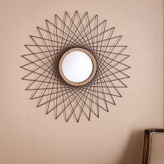 Kera Wall Mirror, Black