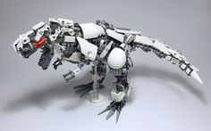 Tremble at the might of Mecha T-Rex