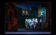 Multum in Parvo Papiertheater: Giuseppe Verdi 'Rigoletto'.