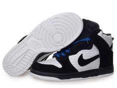 online store 09187 a3145 Nike Dunk High Premium White Black Black High Shoes, Top Shoes, Black Shoes,