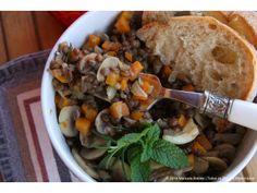 Feijão Mungo com Vegetais | Mung Beans with Vegetables