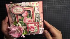 As requested here is the pocket page tutorial for the Mon Amour photo album. Will show how to make the base of the page, double photo mat, flip and fold outs. Graphic 45, Pocket Letters, Heartfelt Creations, Card Tutorials, Scrapbook Pages, Scrapbooking, Copics, Book Making, Paper Cards