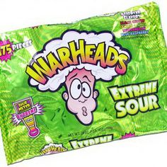 Warheads (trademarked as WARHEADS) is a brand of sour candy manufactured by Impact Confections. Description from imgarcade.com. I searched for this on bing.com/images