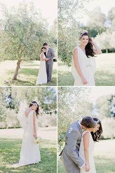Olive grove Wedding by Benjamin