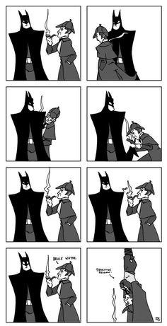 Batman and Sherlock