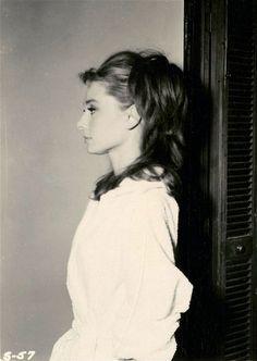 Audrey Hepburn's flawless profile