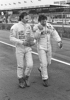 Gilles Villeneuve & Mario Andretti 1981
