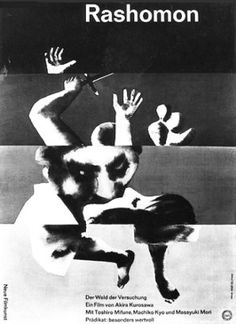 German movie poster image for Rashômon The image measures 327 * 450 pixels and is 37 kilobytes large. Original Movie Posters, Movie Poster Art, Poster On, Poster Prints, Art Prints, Best Book Covers, Photography Illustration, Cinema Posters, Alternative Movie Posters
