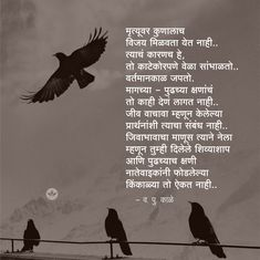 Marathi Poems, Heart Touching Shayari, Good Books, Me Quotes, Poetry, Pula, Quote Life, Thoughts, Feelings