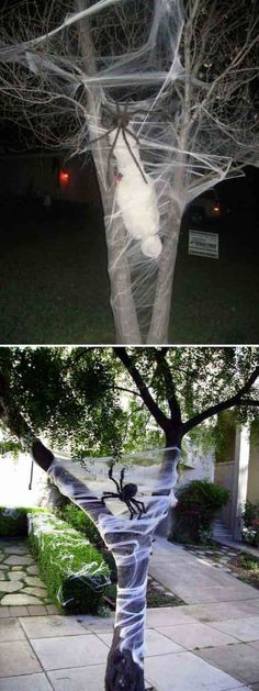 19 best spooky images on Pinterest in 2018 - do it yourself outdoor halloween decorations