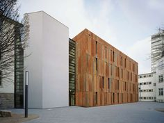Weathering Heights: 6 Commercial Applications of Cor-Ten Rusted Steel - Architizer