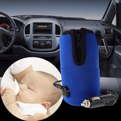 Portable DC Car Baby Bottle Warmer Heater Cover Food Milk Travel Cup Covers Sterilizing Pot With Car Cigarette Lighter Cable Baby Bottle Warmer, Baby Warmer, Led Auto, Car Travel, Travel Cup, Best Baby Bottles, Car Interior Accessories, Bottle Feeding, Keep Warm