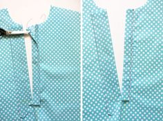 Sewing Blusas free popover placket and tutorial – Oliver S - Ever wanted to sew the Liesl Co. Classic Shirt as a pop-over instead of button-front style? Now you can with this free popover placket pattern piece and tutorial. Dress Sewing Patterns, Sewing Patterns Free, Sewing Tutorials, Sewing Hacks, Sewing Collars, Sewing Sleeves, Sewing Blouses, Make Your Own Clothes, Sewing Lessons