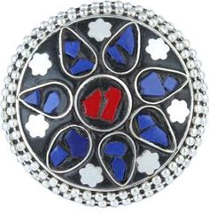 Waama Jewels Brass Cubic Zirconia Silver Plated Ring