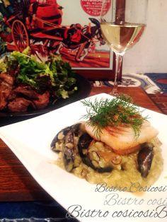 Bistro cosicosi❤︎ Today's Dinner❤︎ date❤︎2015.1 ⋈牡蠣のリゾット ~モンサンミッシェル産 ムール貝と、真鯛~  #ビストロコジコジ