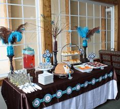 Owl themed baby shower, could be birthday